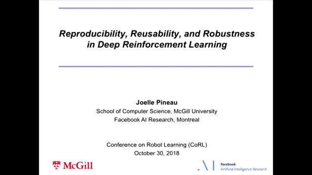 Reproducibility, Reusability, and Robustness in Deep Reinforcement